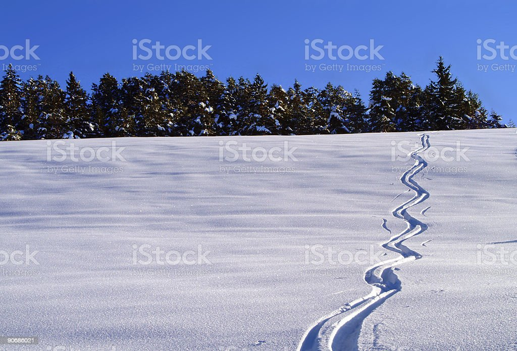 Lonely Trace_65 stock photo
