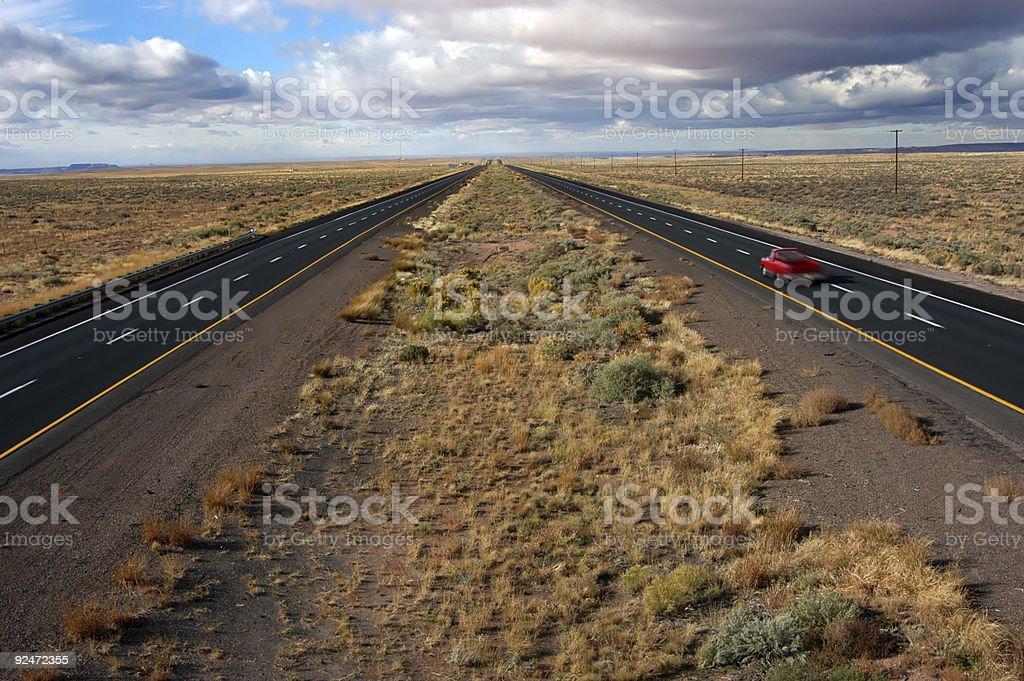 Lonely traveler royalty-free stock photo