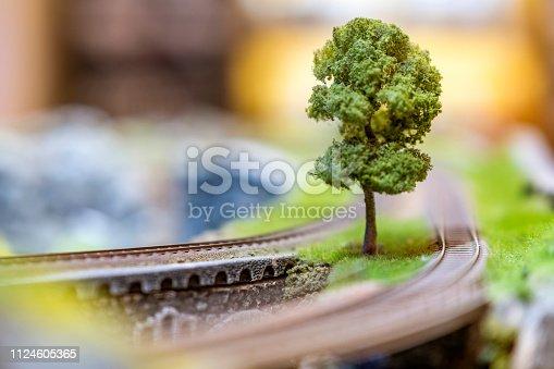 Beautiful detailed diorama located in Bandung, Indonesia