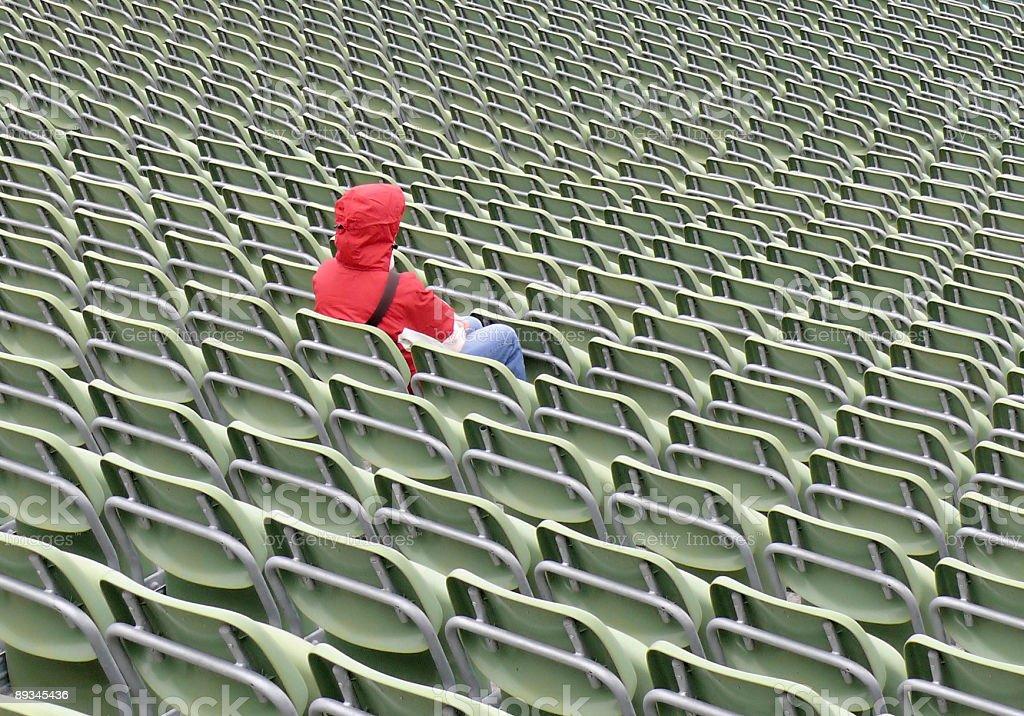 Lonely Women stock photo