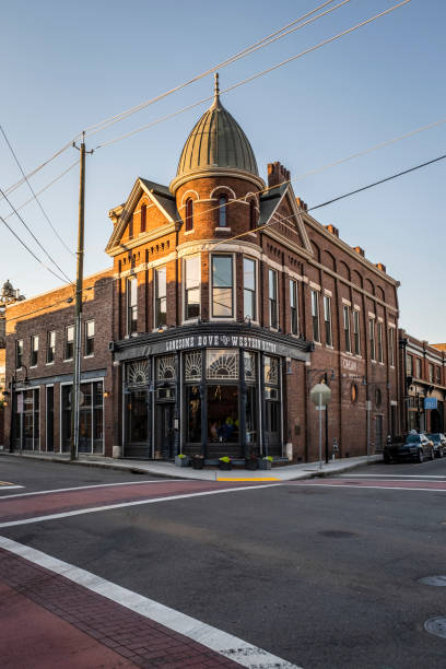 Lonesome Dove and Western Bistro in The Old City of Knoxville stock photo