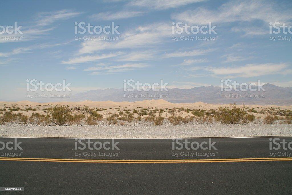 Lonesome freeway royalty-free stock photo