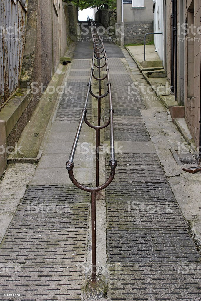 Long Alley royalty-free stock photo