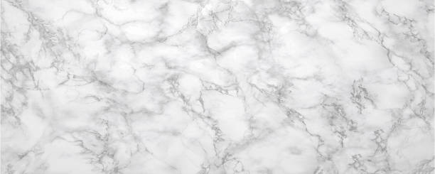 Long and wide texture in horizontal position.White abstract marble,patterns for design with gray shadow. Long light marble backgrounds with gray dark shadow. marble rock stock pictures, royalty-free photos & images