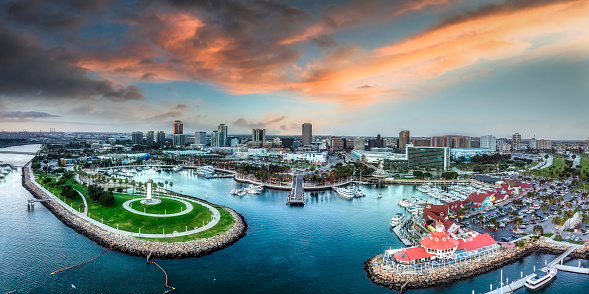 Long Beach bay Los Angeles