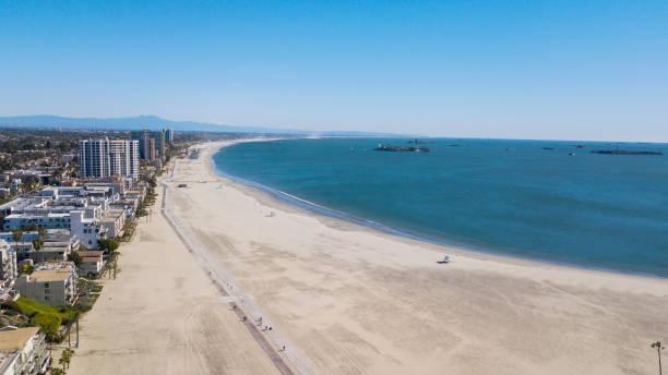 Long Beach, CA View of Long Beach, California, USA. long beach california stock pictures, royalty-free photos & images