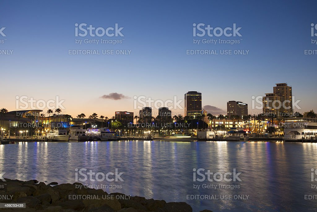 Long Beach CA royalty-free stock photo