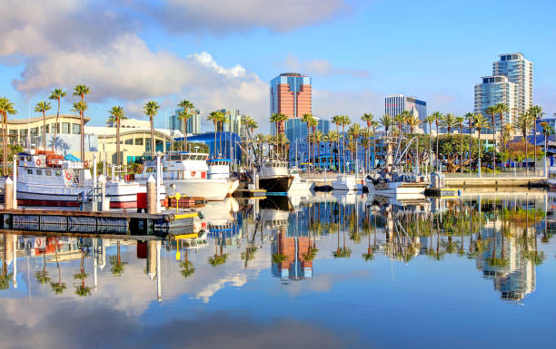 Long Beach, California stock photo