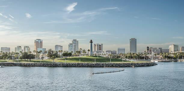 Long Beach California A warm sunny day at Long Beach California. long beach california stock pictures, royalty-free photos & images