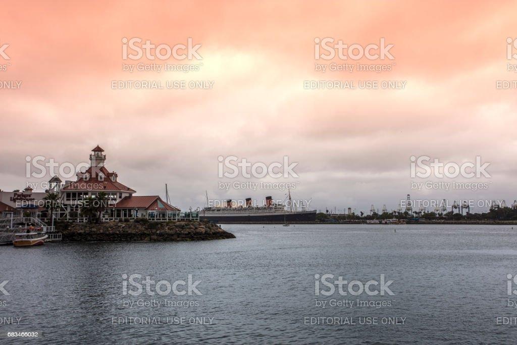 Long Beach California stock photo
