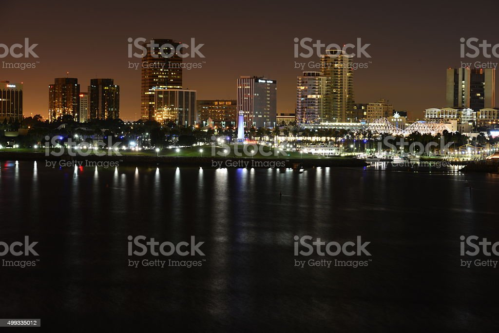 Long Beach stock photo