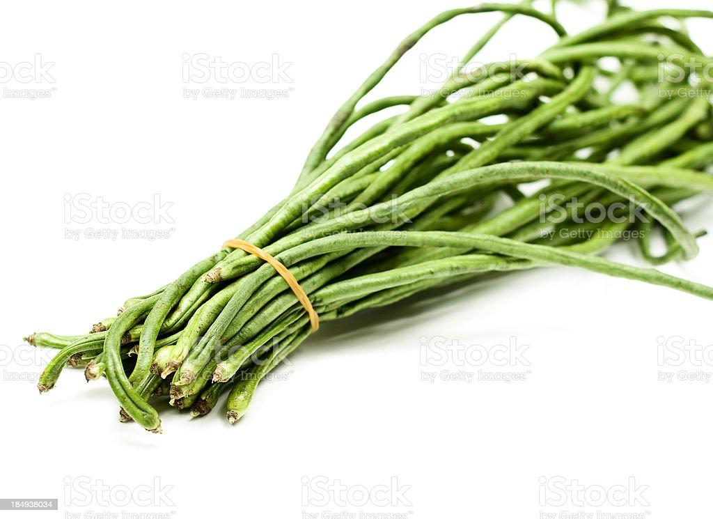 Long beans stock photo