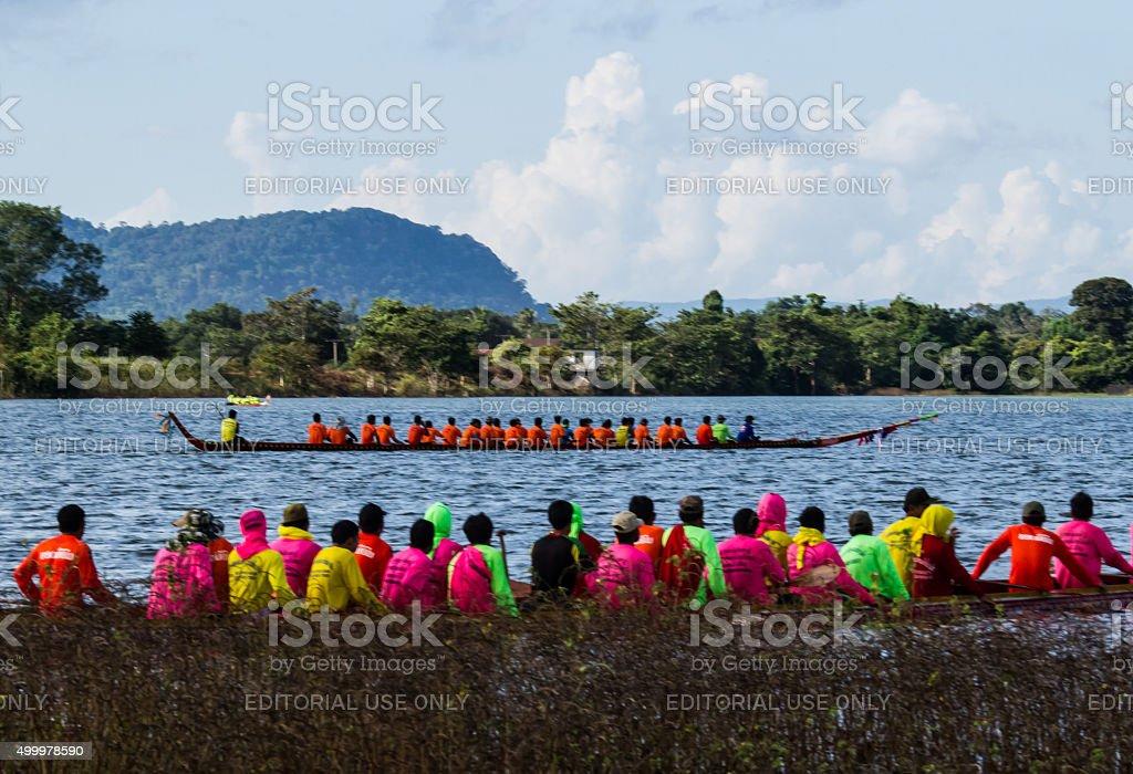 Long boat  racing stock photo
