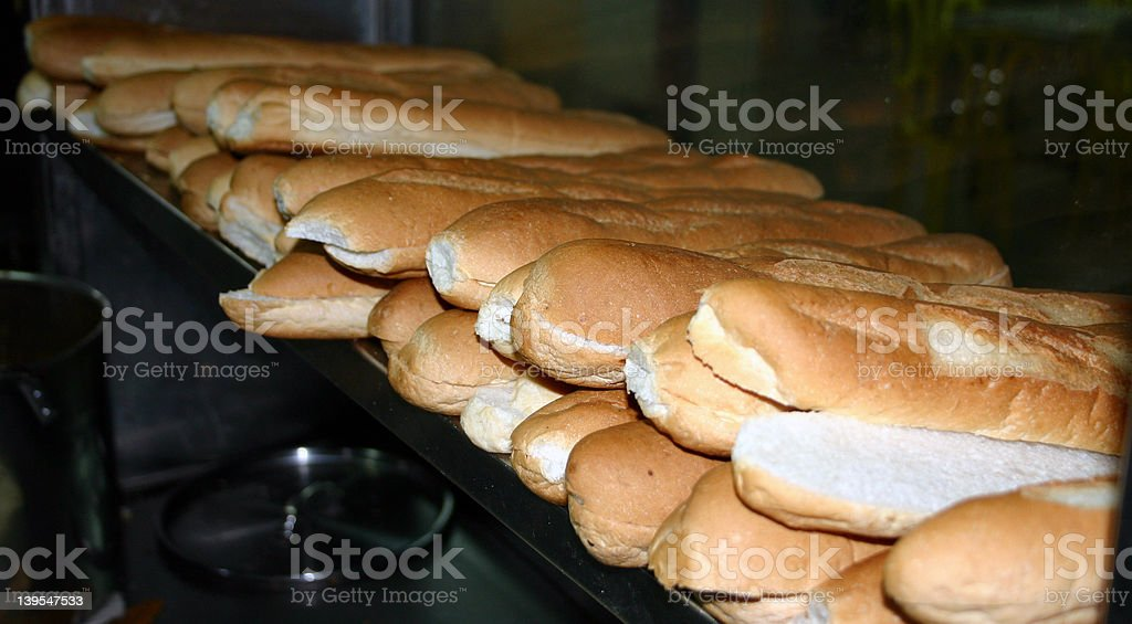 Long Breads (2) royalty-free stock photo