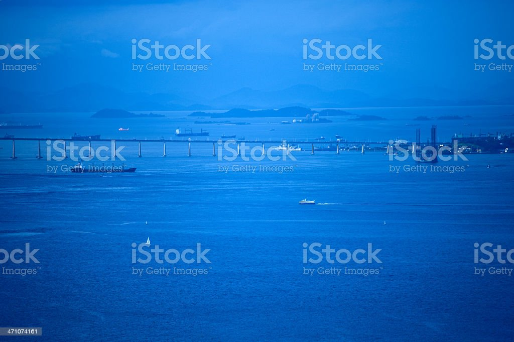 long bridge royalty-free stock photo