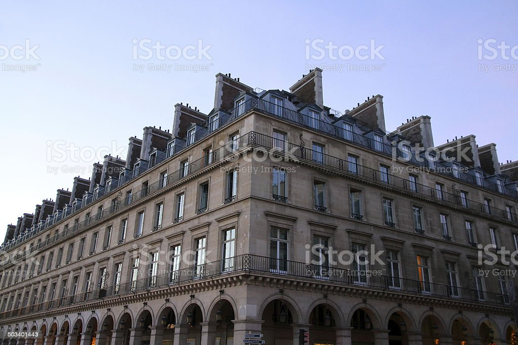 Long Building royalty-free stock photo