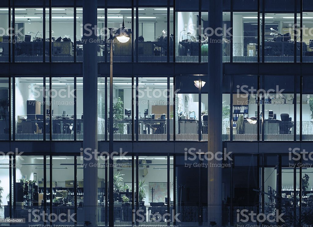 Long business hours stock photo