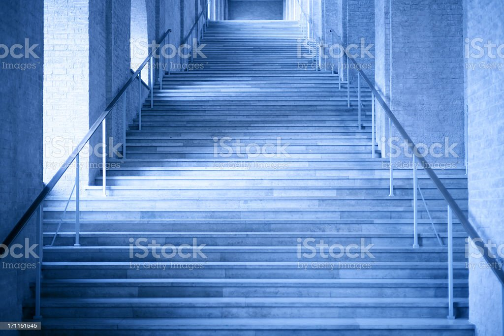 long business stone steps of lobby entrance royalty-free stock photo