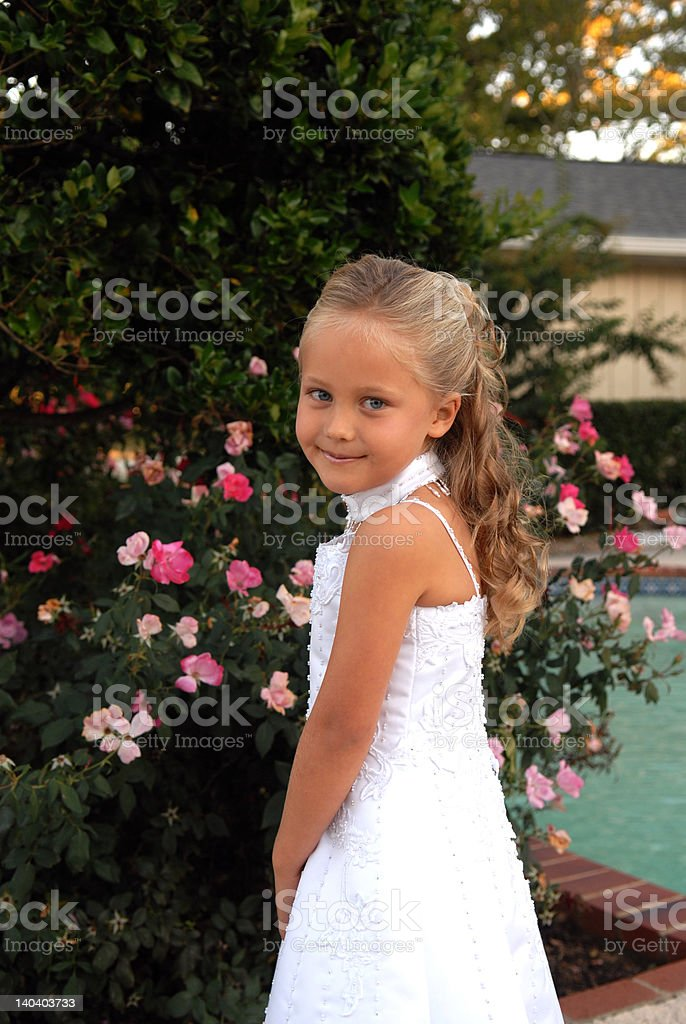 Long Curls royalty-free stock photo
