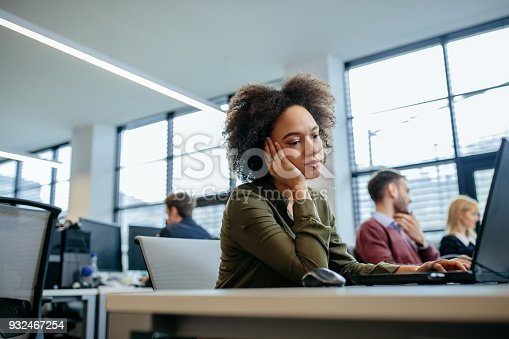 958531418 istock photo Long day at work 932467254