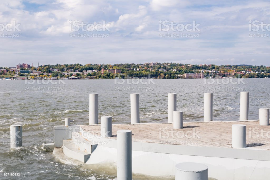 Long Dock Park stock photo