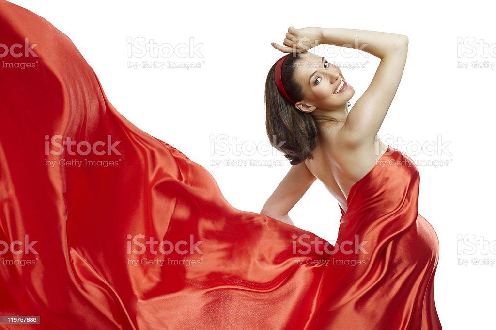long dress royalty-free stock photo