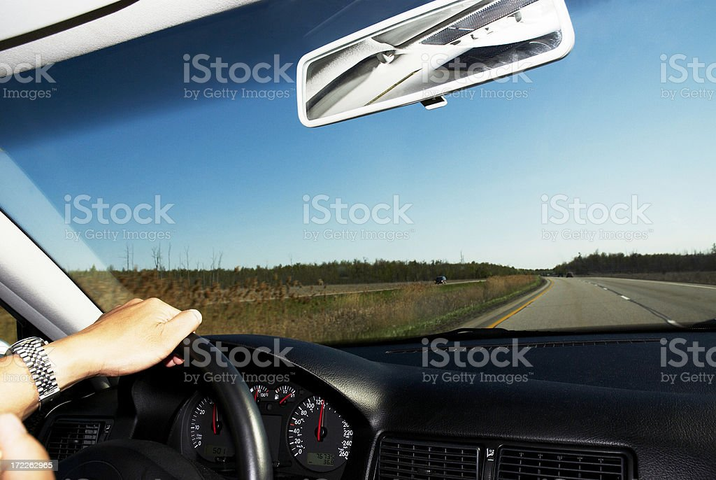 long driving royalty-free stock photo