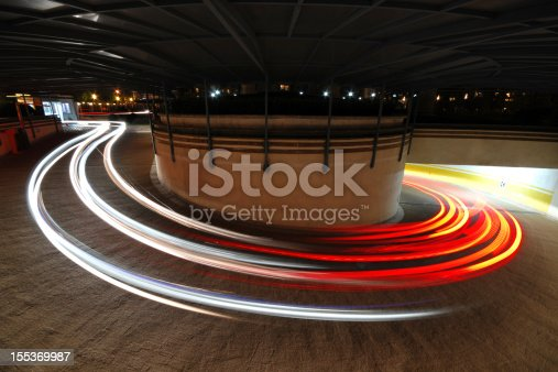 istock Long exposure of Car's Light  - XLarge 155369987