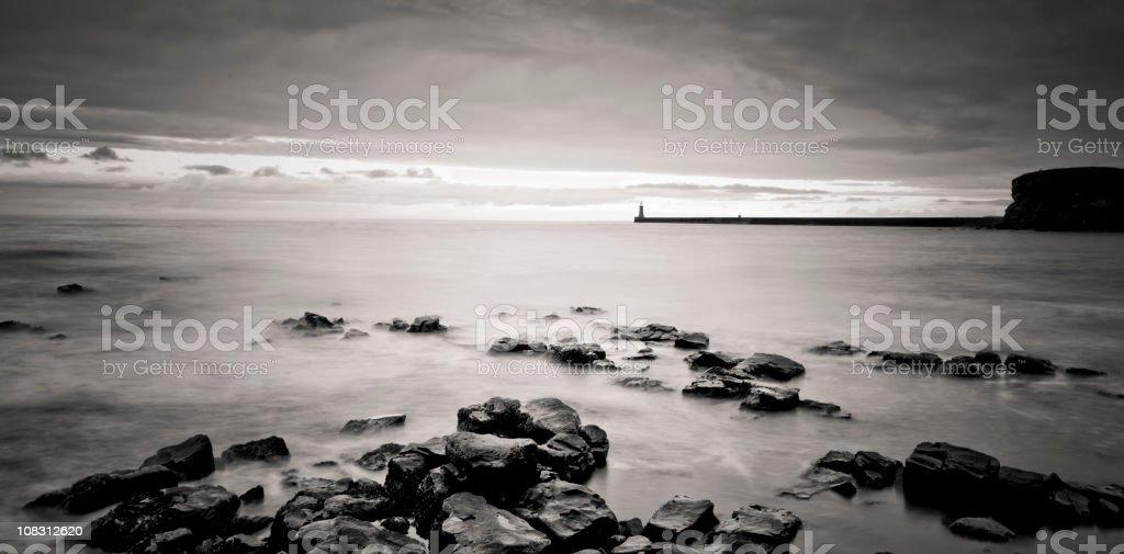 Long Exposure Seascape royalty-free stock photo