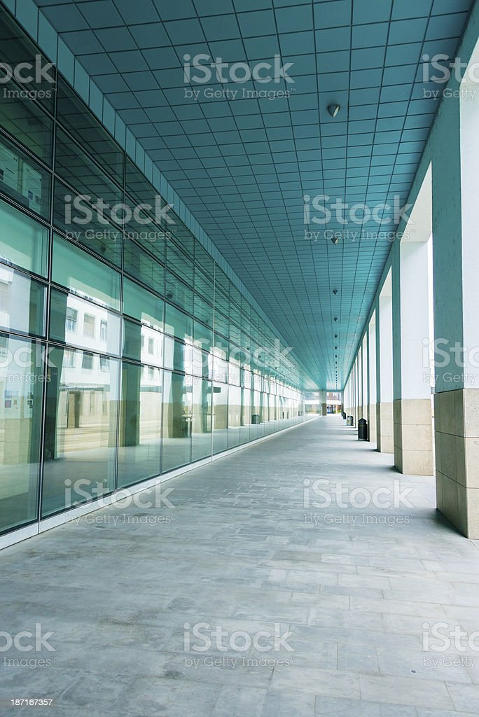 La façade de verre moderne -XXXL loyer - Photo