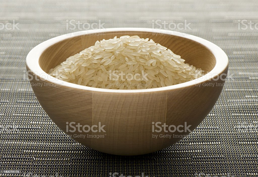 Long grain rice royalty-free stock photo