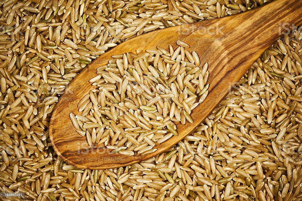 Long Grain Rice stock photo