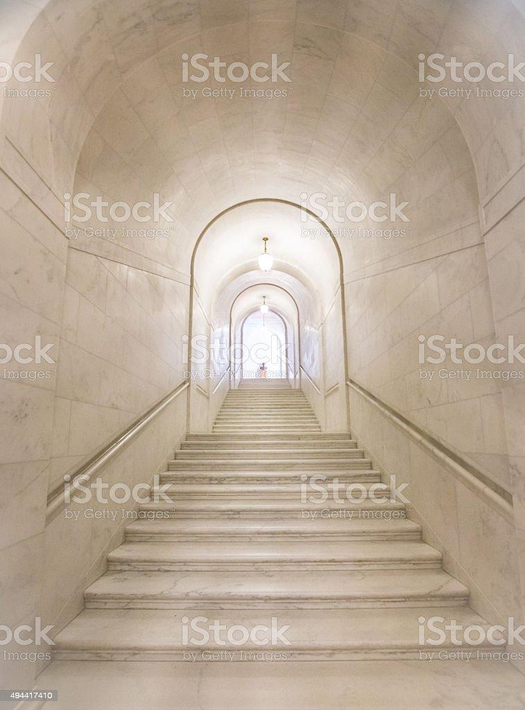 Granit długie Schody w Budynek Sądu Najwyższego Stanów Zjednoczonych – zdjęcie