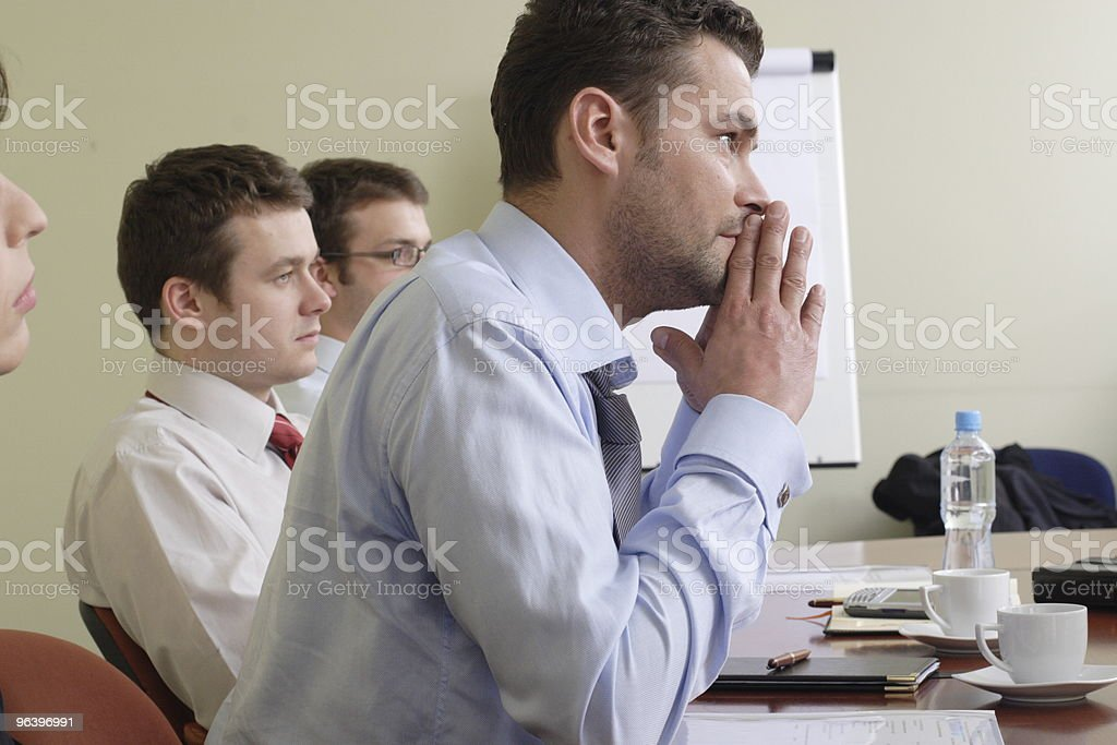 Long group working hours - Royalty-free Adult Stock Photo