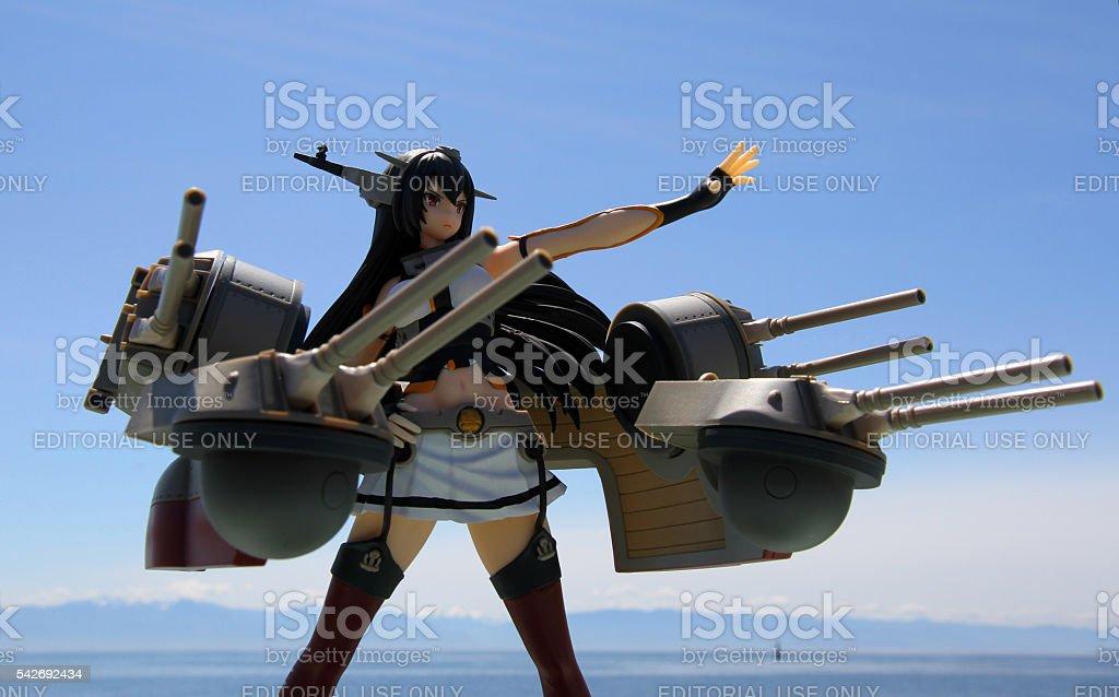 Long Gun Warfare stock photo