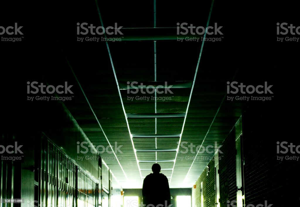 Long Hallway stock photo