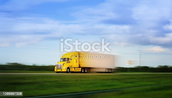 Long Haul Semi Truck Florida