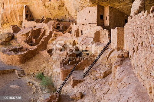 istock Long House at Mesa Verde National Park in Colorado, United States 1091907876