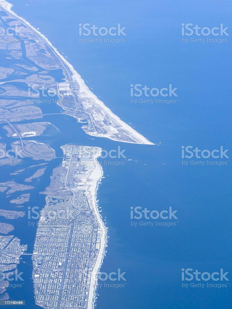 Long Island Aerial stock photo