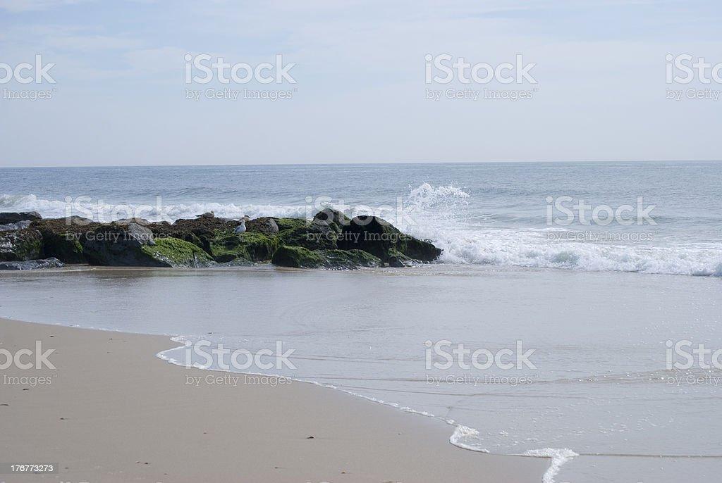 Long Island Beach royalty-free stock photo