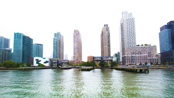 Long Island City, NY: Skyline on the East River