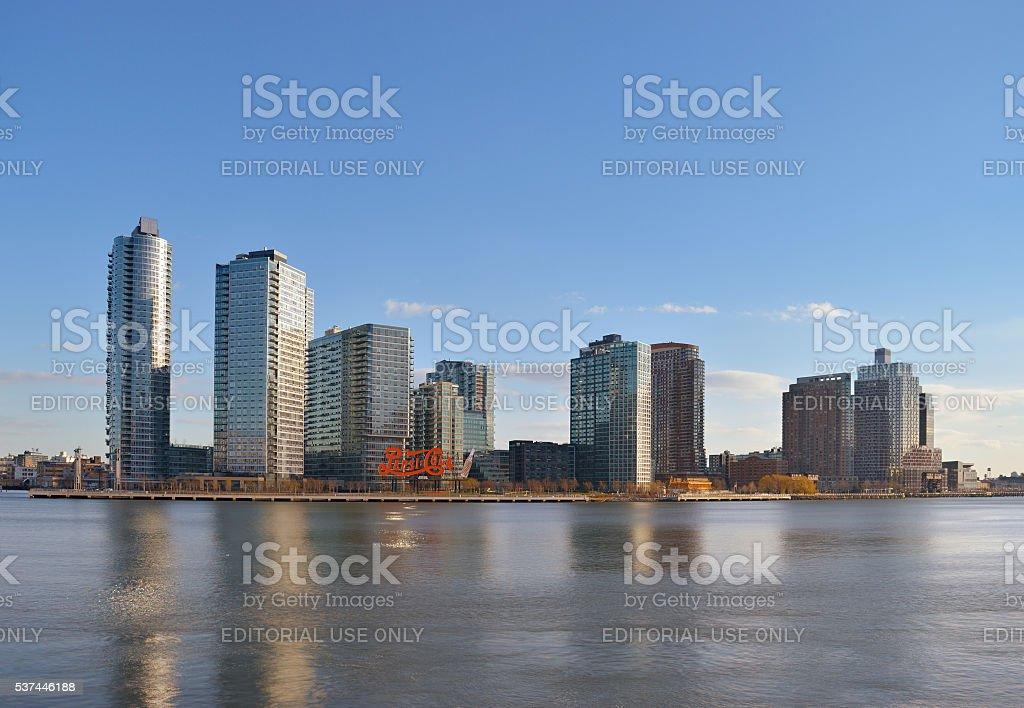 Long Island City. stock photo