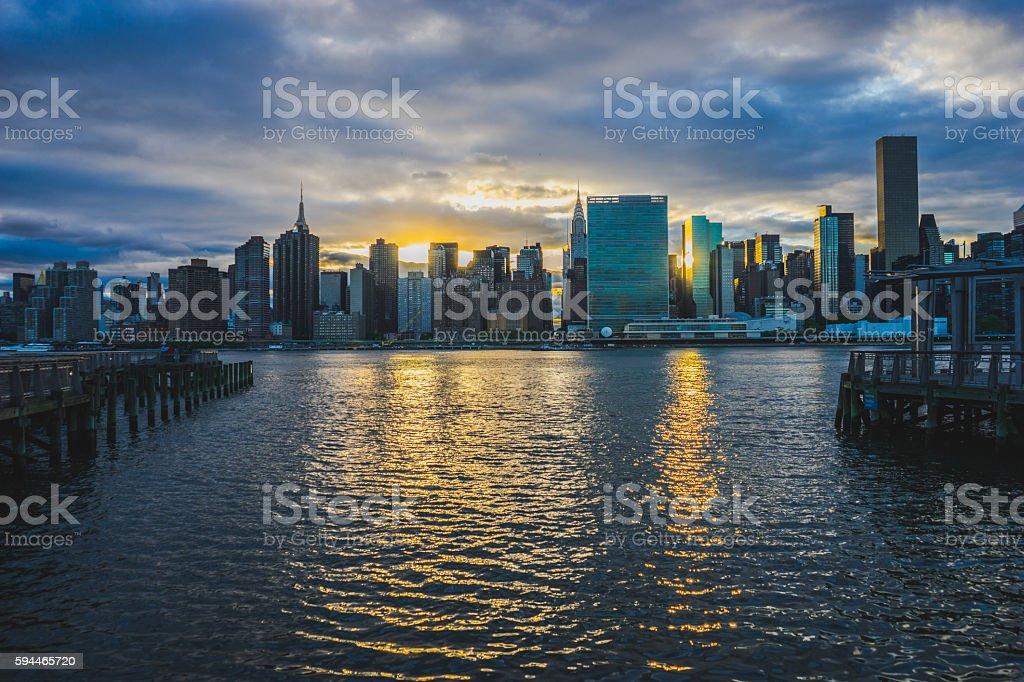 Long Island City stock photo