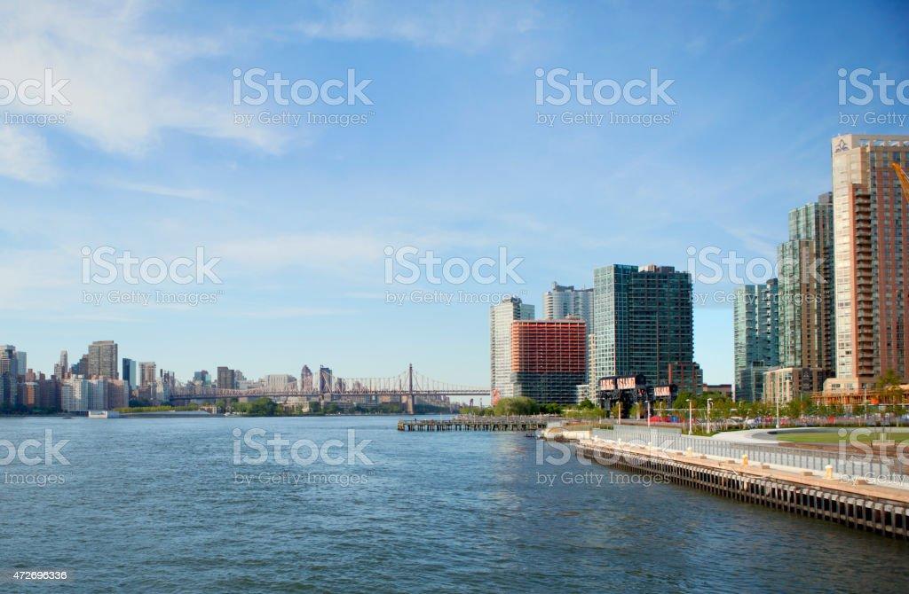 Long Island City Queens New York stock photo
