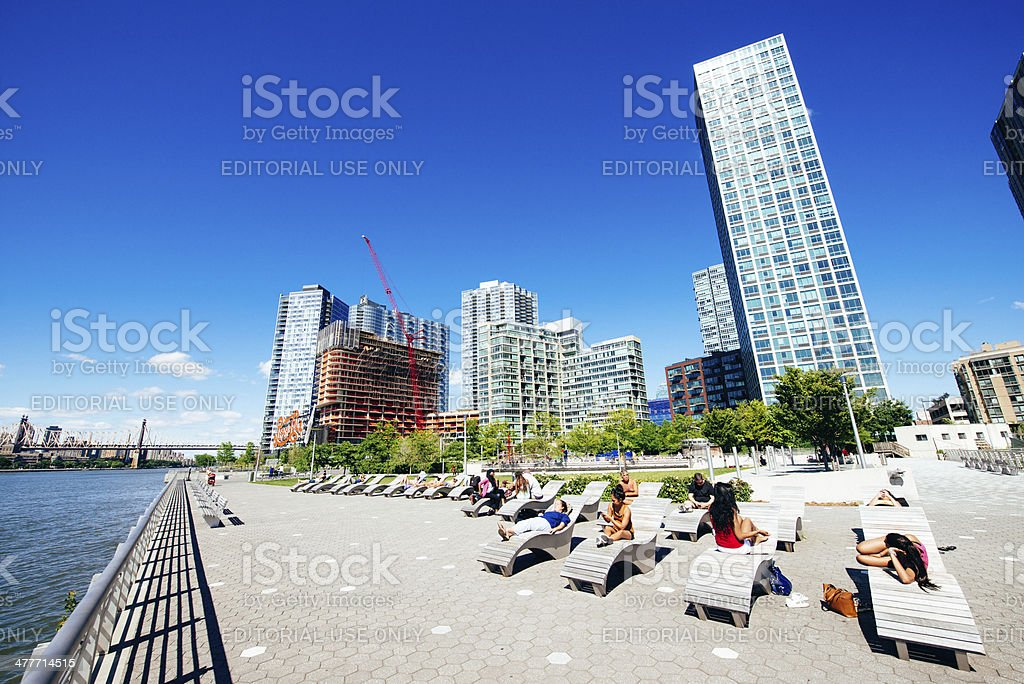 Long Island City Queens New York royalty-free stock photo