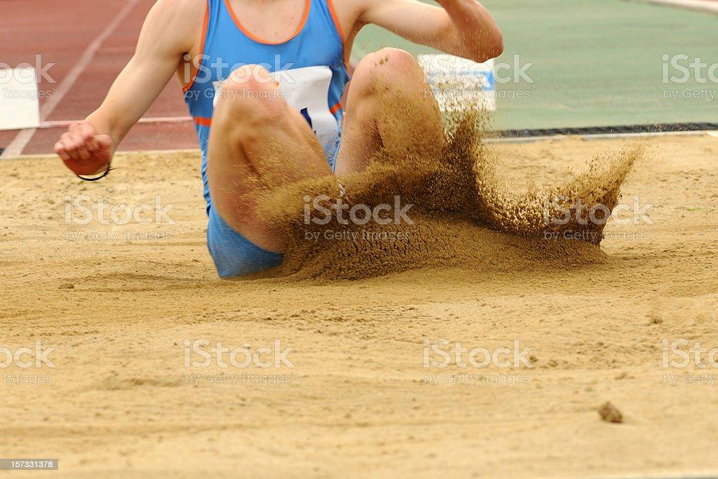 Long Jump - Royalty-free 20-24 Years Stock Photo