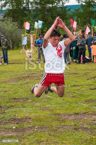 istock Long jumps on a national holiday of YSYAH 502807276