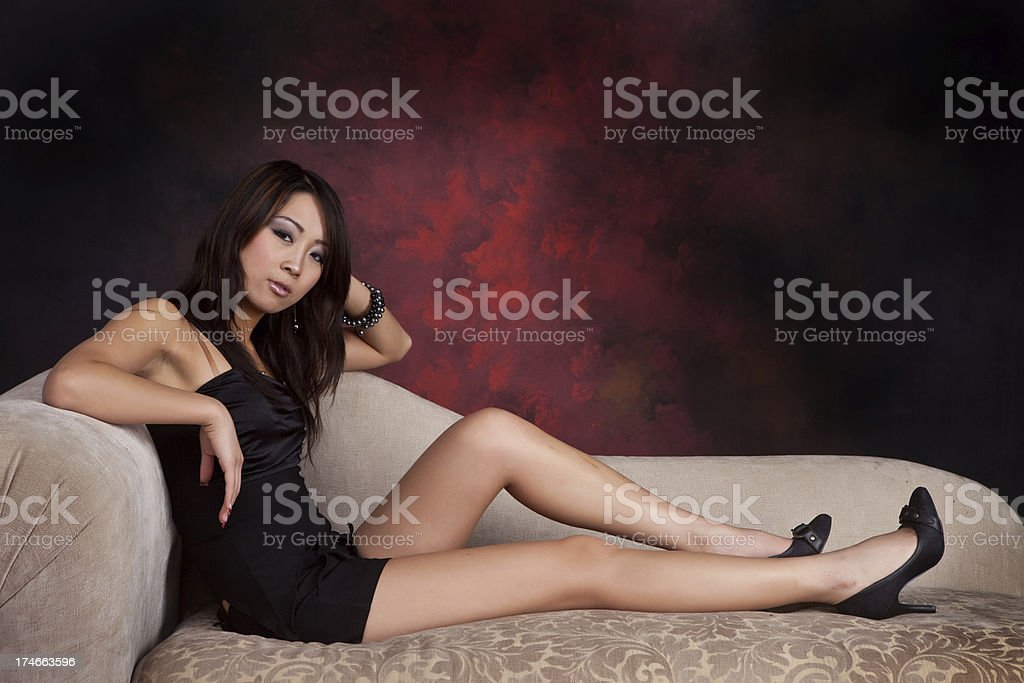 Long legs stock photo