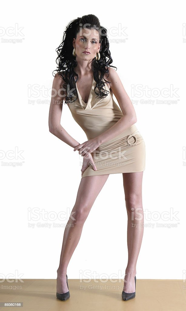 Lungo le gambe foto stock royalty-free