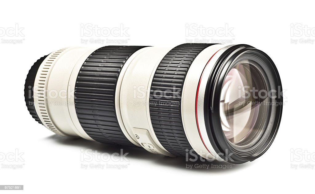 long lens royalty-free stock photo